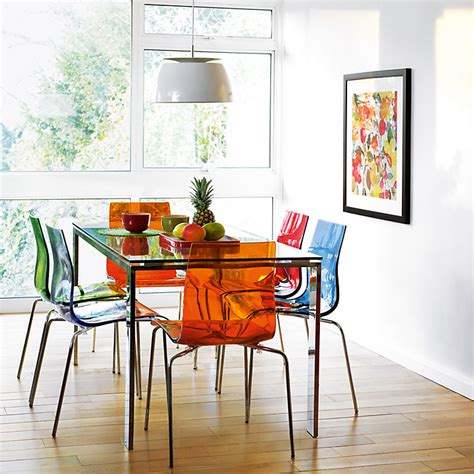 colourful contemporary dining dining table and gel