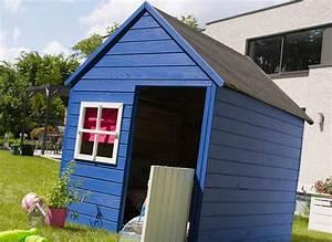 Cabane Exterieur Enfant : cabane enfant bois pas cher modulable marina forest style ~ Melissatoandfro.com Idées de Décoration