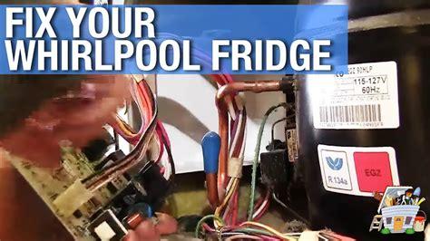 whirlpool refrigerator repair youtube