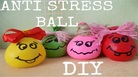 diy anti stress balls easy stress ball  minute crafts