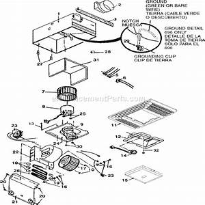 Wiring Diagram For Nutone 695 Heater And Fan Motor