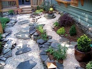 Kies Steine Garten : japanischer garten steine kies pflanzen elemente vorgarten garten pinterest kies ~ Whattoseeinmadrid.com Haus und Dekorationen