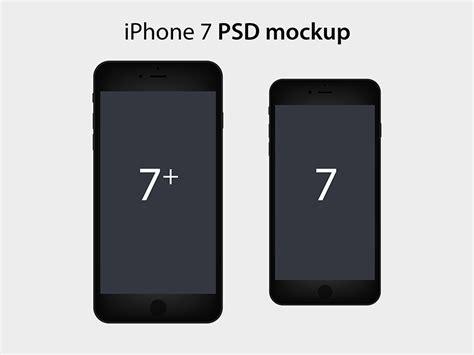 iphone 7 template 50 iphone 7 7 plus jet black mockup templates designazure