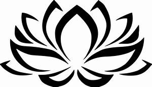 Clipart - Lotus Flower