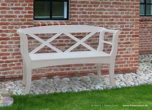 Holz Gartenbank Weiß : premium gartenbank hartholz natur ge lt oder wei lackiert ~ Sanjose-hotels-ca.com Haus und Dekorationen