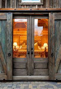 sliding barn door ideas to get the fixer upper look With barn style doors for house