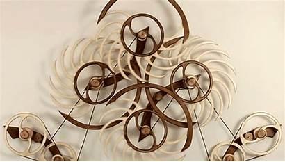 Kinetic Wood Sculptures David Roy Sculpture Self