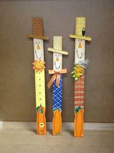 Scarecrow, Paint, Sticks