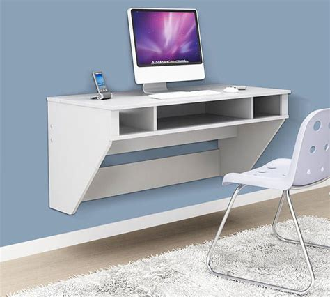 smart solutions for your home suspended space saver 22 wall mounted desks to buy or diy brit co
