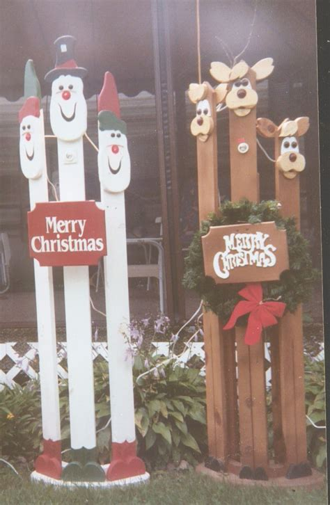 wooden christmas yard art patterns woodworking projects