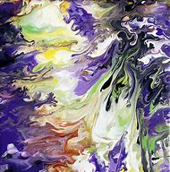 Abstract Painting by Mark Chadwick Fluid