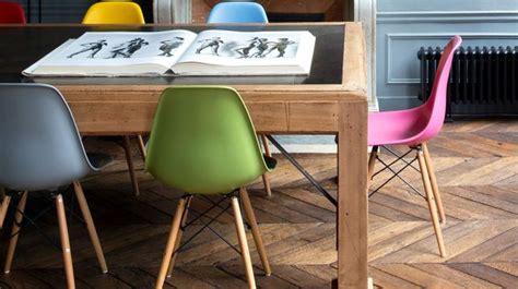 chaises de couleur déco salle à manger nos meilleures idées et photos