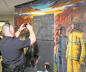 Memorial wall pays tribute to area's first responders ...
