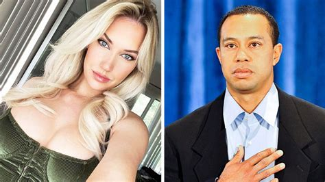 'Too hard on him': Paige Spiranac defends 'insane' Tiger ...