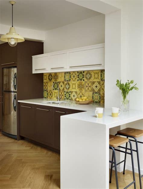 cuisine design petit espace aménager une cuisine 40 idées pour le design