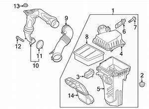 Ford Crown Victoria Mass Air Flow Sensor  Liter  Engine
