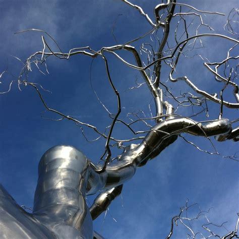 stainless steel tree sculpture stainless steel tree sculpture dc sculpture stainless steel sculpture pinterest