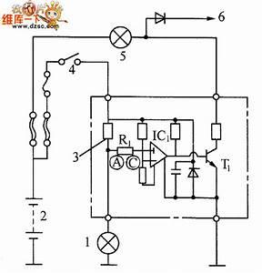 Lamp Broken Wire Detection Circuit Diagram