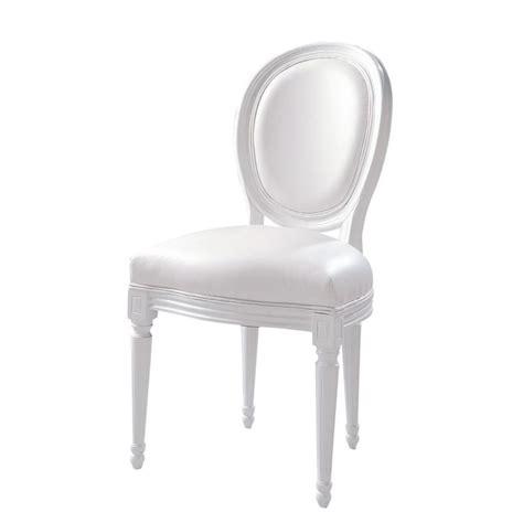 chaise blanche louis 149 chez maison du monde photo de