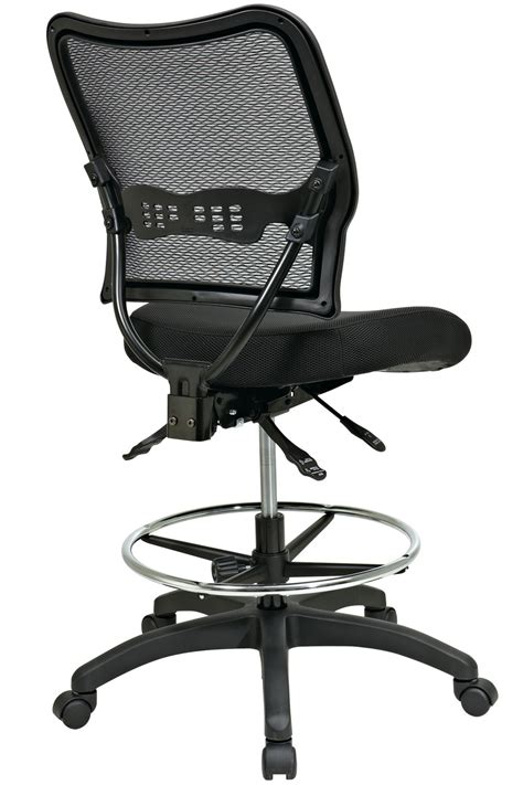 ergonomic kneeling drafting chair 13 37n30d office space deluxe ergonomic air grid