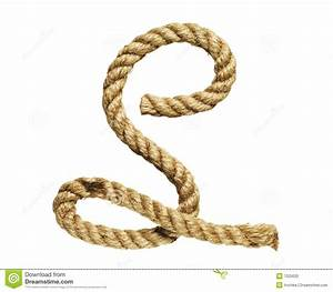 Rope forming letter c stock photography image 7025032 for Custom rope letters