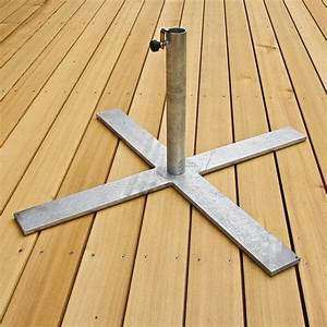 Sonnenschirmständer Gewicht Empfehlung : sonnenschirmst nder metall verzinkt gr sse 850x850mm gewicht 14kg f r schirme bis ~ Orissabook.com Haus und Dekorationen