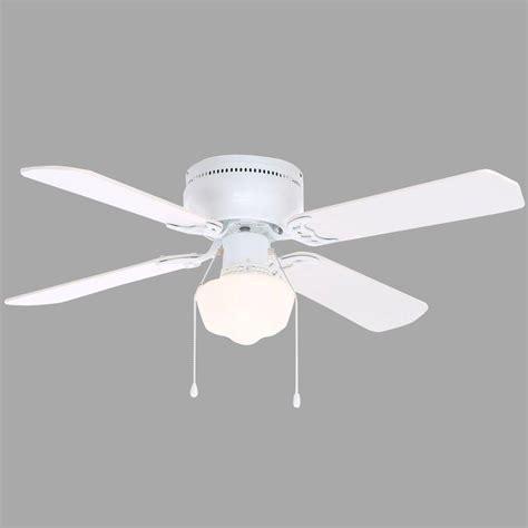 42 Ceiling Fan Room Size by Hton Bay Littleton 42 In Indoor White Ceiling Fan With