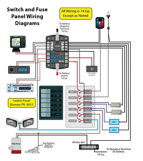Wiring For Switch Panel Bus Bar Page Iboats