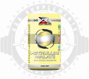 Aaa Supplements Body Ripped - L-citrulline Malate  50 Serve