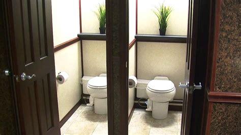 portable restroom trailers llc luxury restroom trailers
