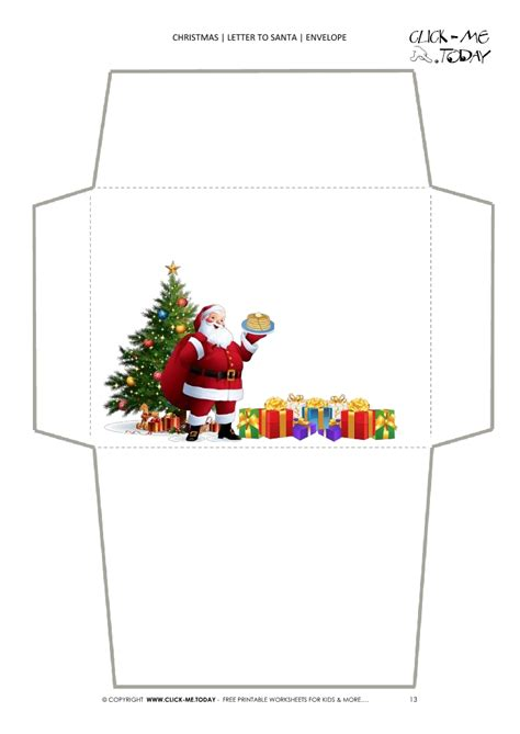 christmas letter from santa blank santa envelope template tree 13 20847 | blank santa envelope template xmas tree%20(13)