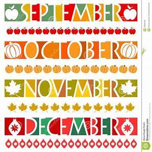 October November Clipart - ClipartXtras