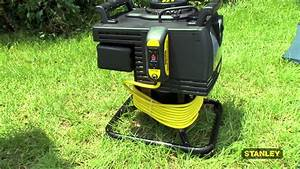 Stanley 3250 Watt Portable Handheld Generator With 25ft