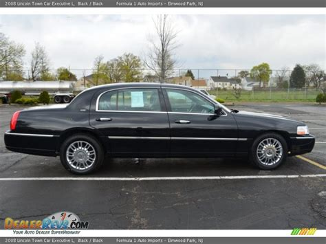 2008 Lincoln Town Car Executive L Black / Black Photo #8 ...