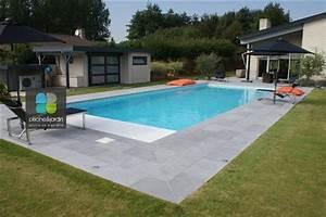 Carrelage Terrasse Piscine : carrelage pour plage piscine evtod ~ Premium-room.com Idées de Décoration