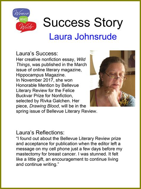 writing success stories women  write  place