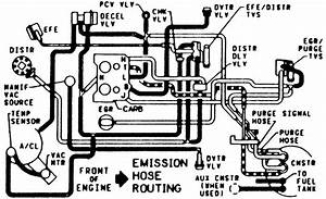 Carburetor Hoses Diagram