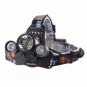 Lampe Torche Led Ultra Puissante : xcsource lampe frontale ultra puissante 6000lm 3 lampes ~ Melissatoandfro.com Idées de Décoration