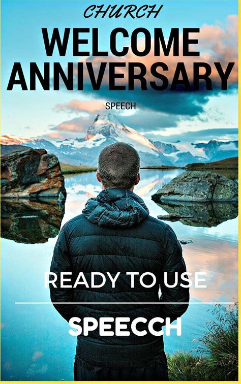 church anniversary  speecheswell