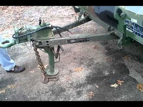 military trailer cer 2004 m101 a2 trailer youtube