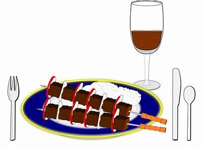 Dinner Clipart Icon Souvlaki Lamb Cuisine Transparent