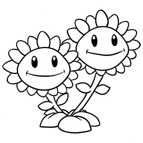 plants  zombies coloring pages