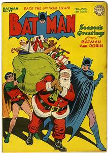 Changing Depictions Of Santa Claus In Science Fiction Magazines And Superhero Comic Book Covers