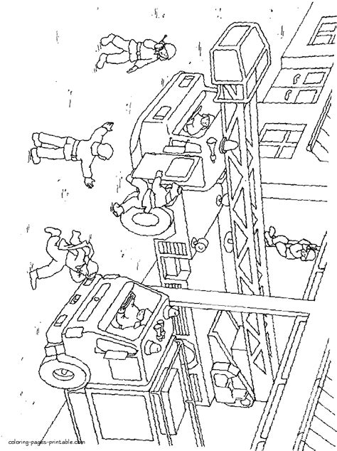 fire station coloring pages coloring pages printablecom