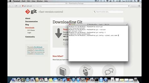 In the configuring the terminal emulator to use with git bash window, select use mintty (the default terminal of msys2). How to download and install Git on Mac - YouTube