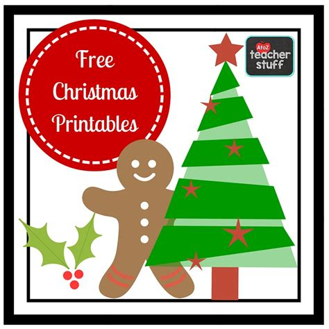 Christmas Printables & Worksheets  A To Z Teacher Stuff Printable Pages And Worksheets