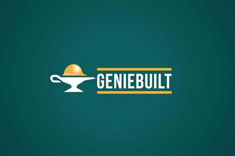 genie built logo cowboy
