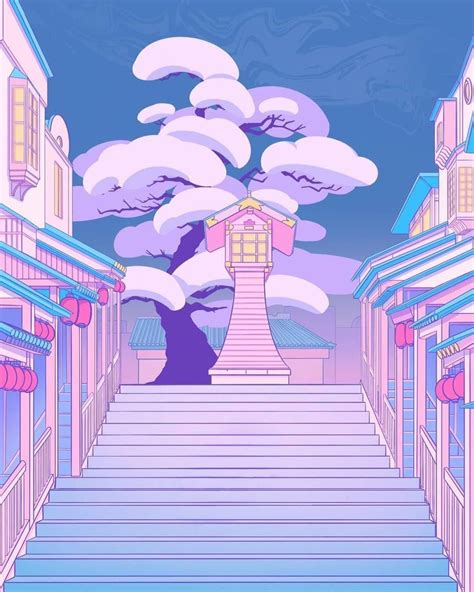 ghiblistudio anime scenery wallpaper pastel