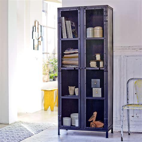 kessebohmer kitchen accessories tikamoon industriel metal grill cabinet 70 2087