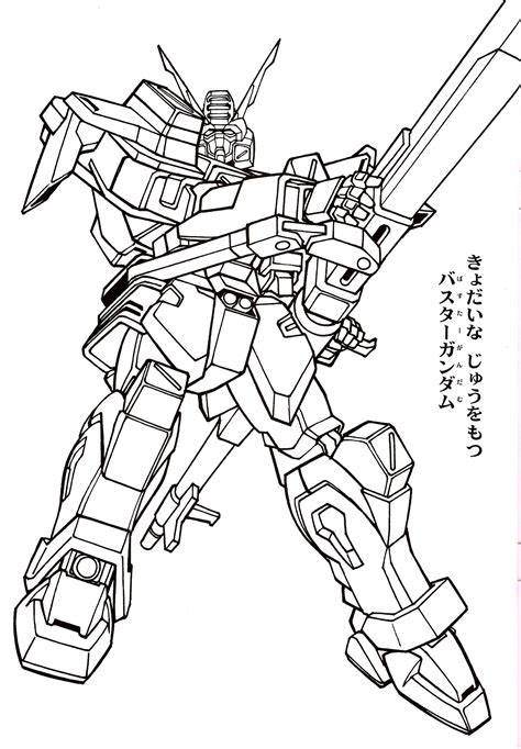 Coloring Gundam by 0079 Gundam Colouring Pages